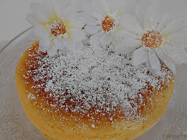 Cheesecake japonês só com 3 ingredientes