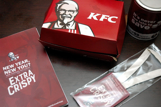 Make That Extra Crispy by The Colonel To Start The Year Right with The New KFC Extra Crispy Chicken