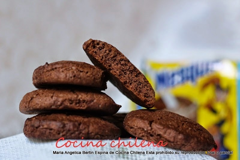 GALLETAS DE CHOCOLATE ..   NESQUIK