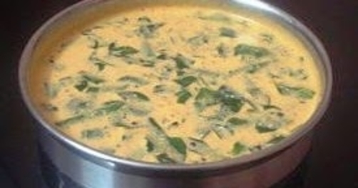 Venthaya Mor Kuzhambu (Roasted Fenugreek Buttermilk Kuzhambu)