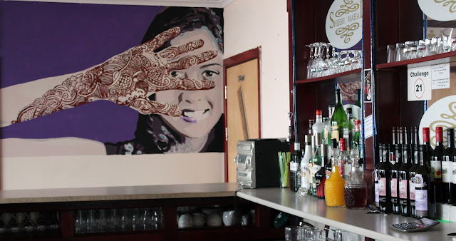 A Feast for the Eyes: Inspiring wall art in Indian restaurants