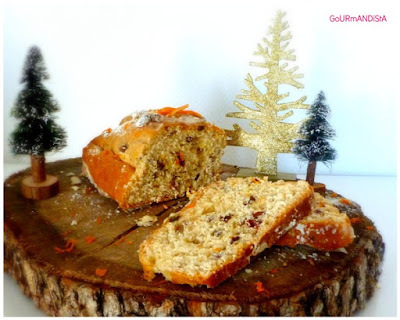 Stollen aux fruits secs de Christophe Felder