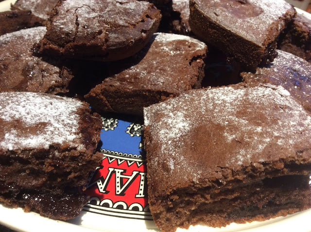 Chocolate Brownies #AfterEightBakes
