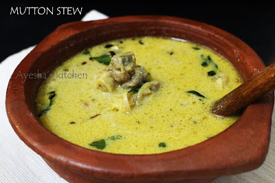 MUTTON RECIPES - MUTTON STEW / KERALA MUTTON STEW RECIPE