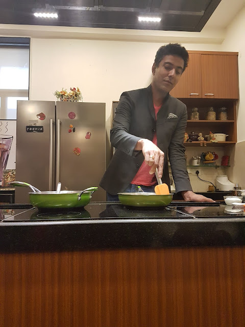 Cooking Chocolate Risotto with Ranveer Brar