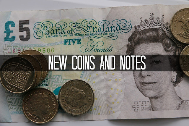 Finance Fridays – New coins and notes