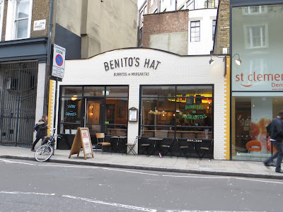 Benito's Hat, Farringdon, restaurant review