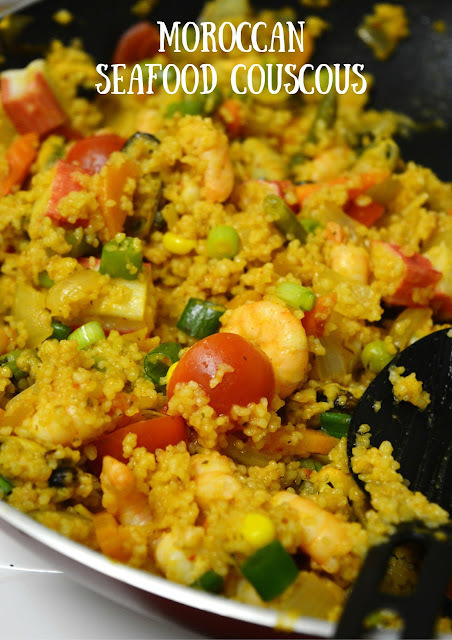 Moroccan Seafood Couscous