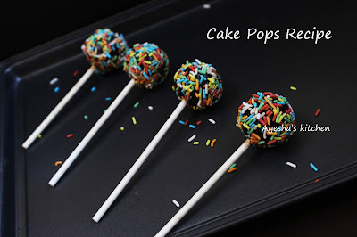 CAKE POPS - EASY CAKE POP RECIPE / NUTELLA CAKE POPS