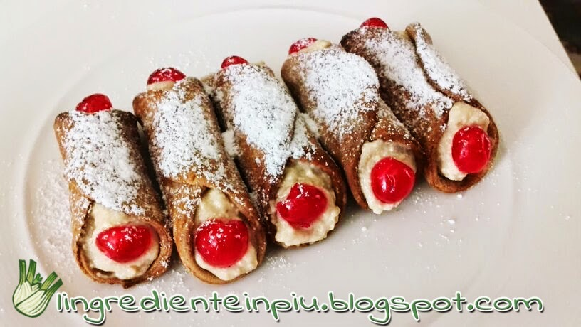 Cannoli siciliani in versione light