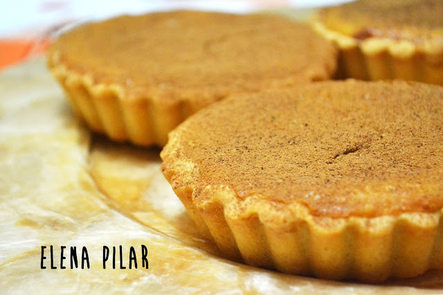 Tartitas de calabaza (mini pumpkin pies)