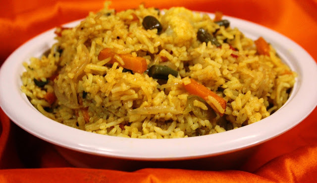 Veg Biryani without grinding