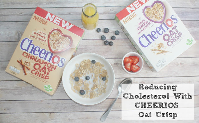 Start The Day Right & Help To Lower Cholesterol With CHEERIOS Oat Crisp