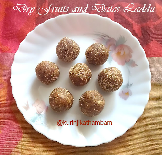 Dry Fruits and Dates Laddu | Easy Laddu Recipes