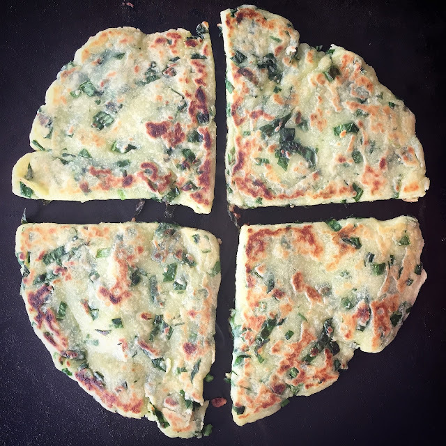 Wild Garlic Tattie Scones