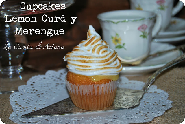 Cupcakes de Lemon Curd y Merengue