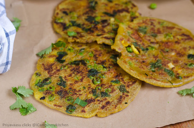 Masala Poli - Spicy potato Masala stuffed Poli #BreadBakers