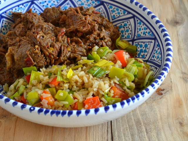 Rendang uit de multicooker (slowcooker) of braadpan
