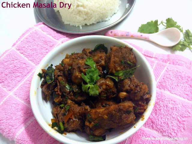 Chicken Masala Dry