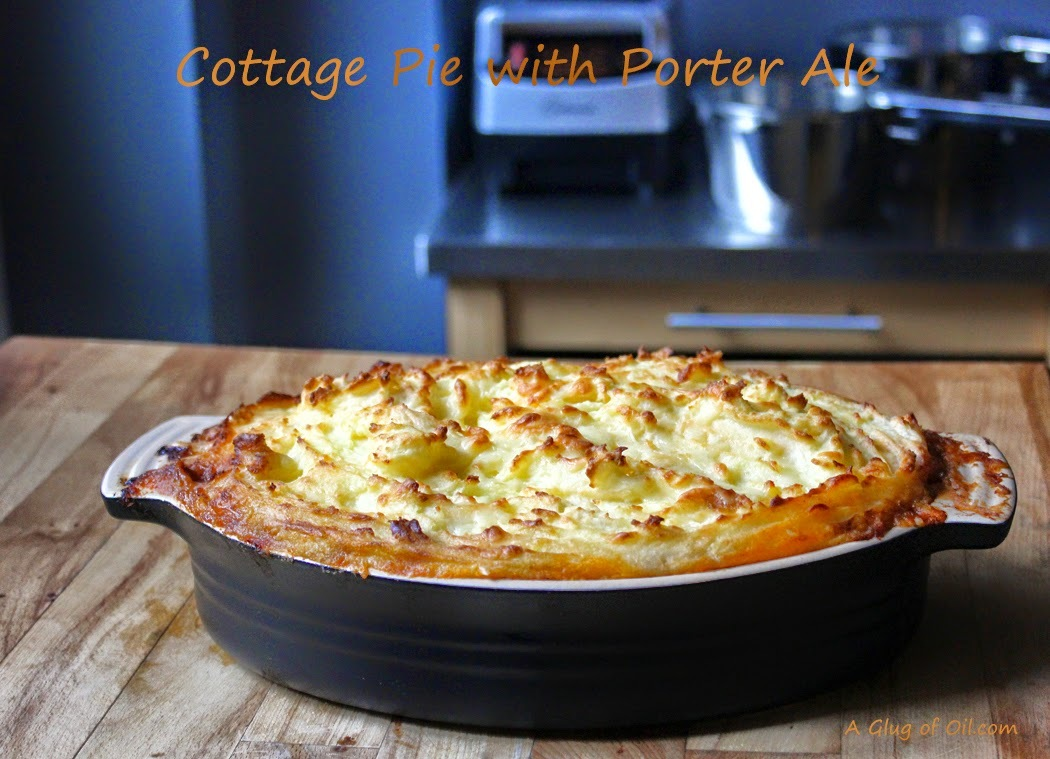 Great British Dish - Cottage Pie with Porter Ale