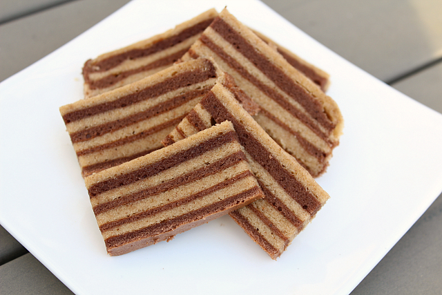 Homemade spekkoek
