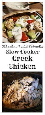 Slimming World Friendly Recipe: Slow Cooker Greek Chicken