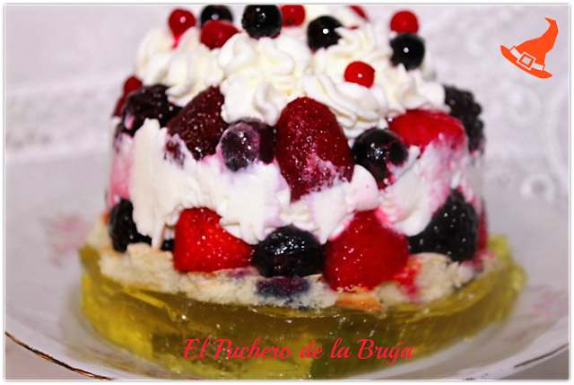 TRIFLE DE FRUTOS ROJOS