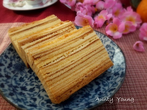 印尼千层蛋糕(Indonesia Layer Cake)