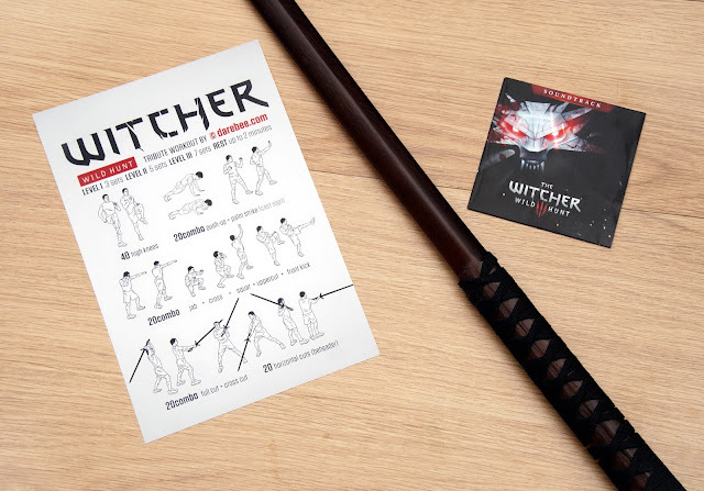 Monday: Darebee.com Witcher Workout