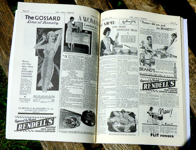 Vintage Recipe Cookbooks (Historic Newspapers)