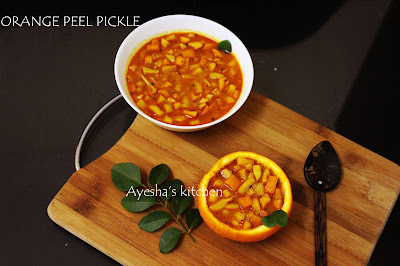 ORANGE PEEL RECIPE - ORANGE PEEL PICKLE