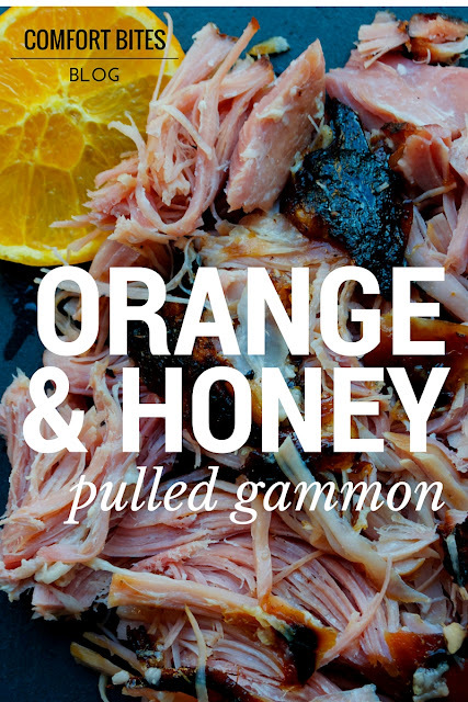 Orange and Honey Pulled Gammon