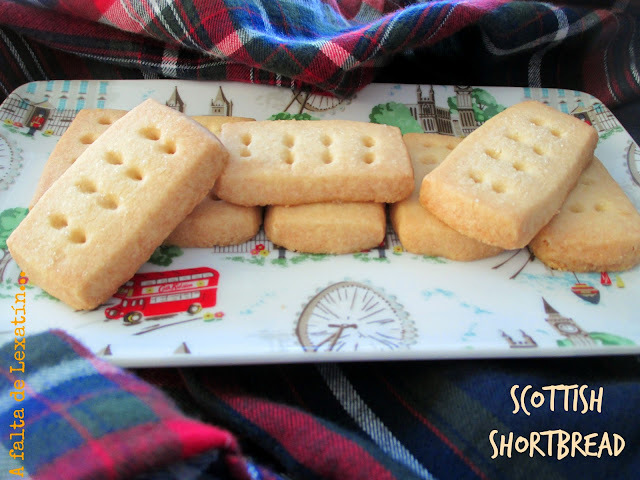 Galletas escocesas de mantequilla // Scottish Shortbread