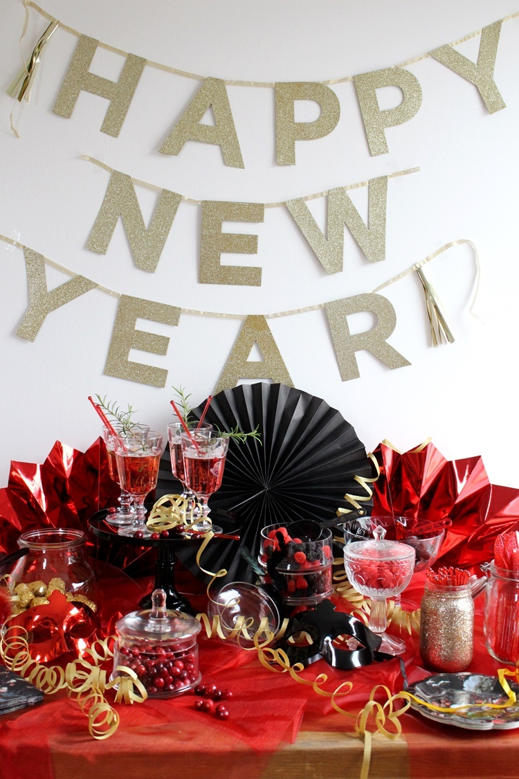 Happy New Year (Maskenball Candy Bar)