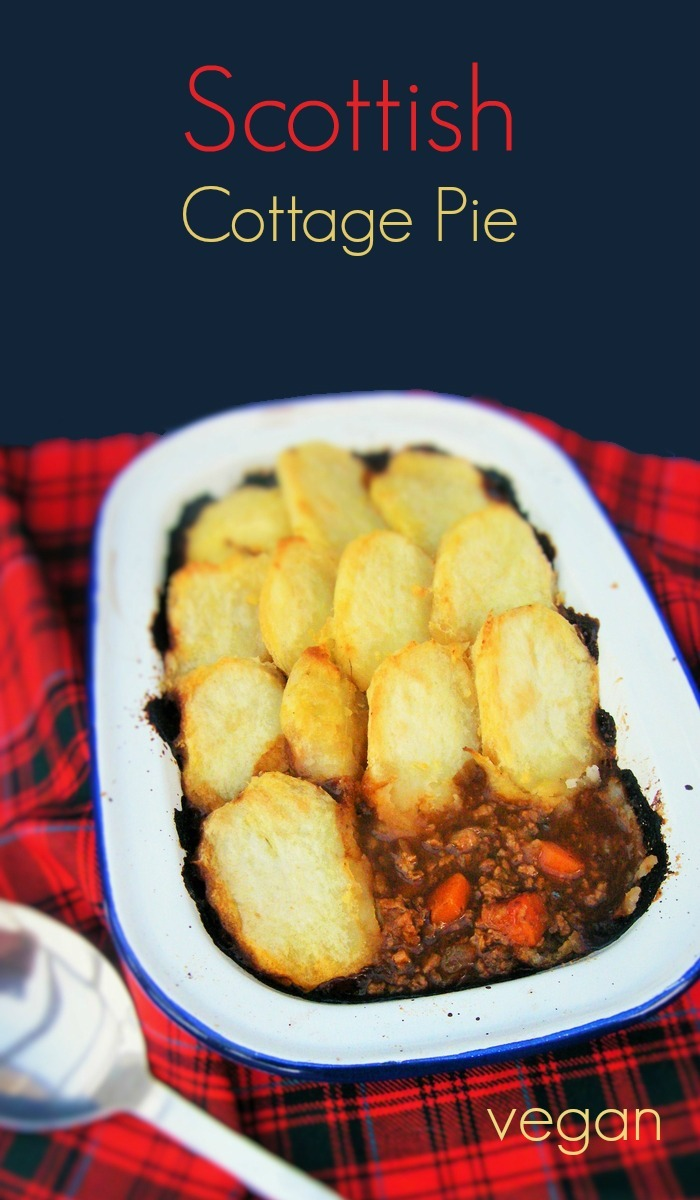 Scottish Vegan Cottage Pie