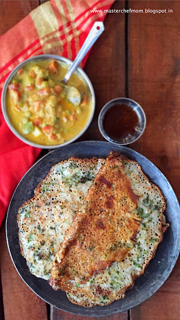 Chettinad Visiri Dosai | Lacy Crepes from Chettinad | How to make Visiri Dosai at home | Stepwise pictures and Video | Instant Dosa Recipe | Quick and Easy