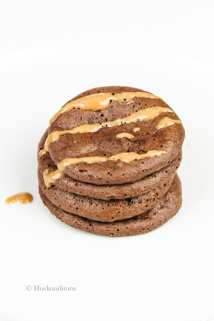 Chewy Chocolate Peanut Butter Protein Cookies