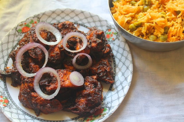Jeera Chicken Recipe - Cumin Chicken Recipe
