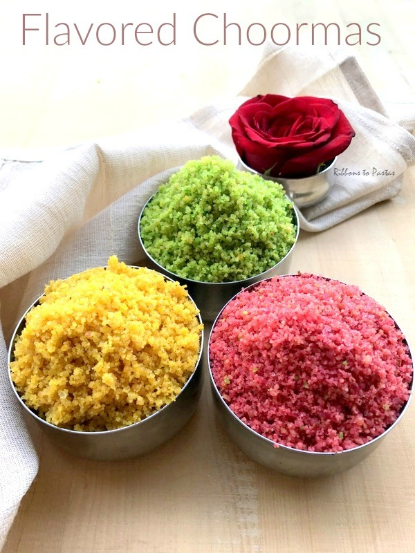 Flavored Choorma for Holi