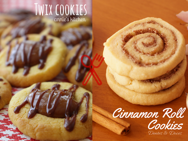 #1 Cook-Off: Bolachas || Cookies - Bolachinhas Twix