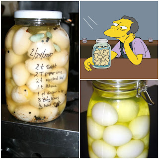 Huevos encurtidos especiados- Spicy Pickled Eggs