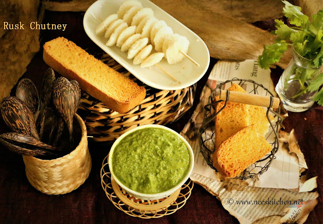 Whole Wheat Rusk Chutney