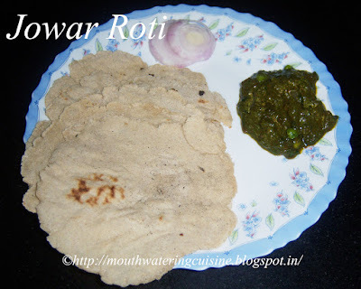 Jowar Roti -- How to make Jowar Roti
