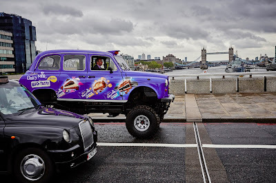 CADBURY DAIRY MILK BIG TASTE UNVEILS THE UK'S FIRST EVER MONSTER TRUCK TAXI