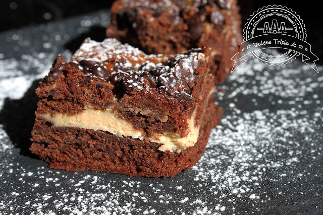 Brownie de Chocolate y Crema de Queso