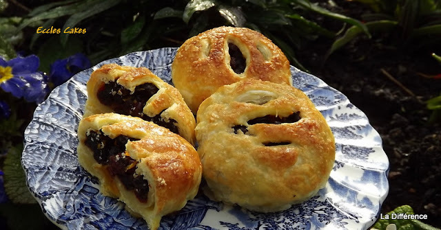 Eccles Cakes (Traditional British Fayre)