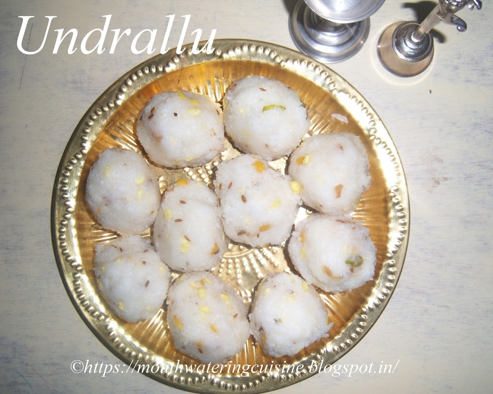 Undrallu Recipe -- Kudumulu Recipe -- How to make Undrallu Recipe -- Vinayaka Chavithi Recipes
