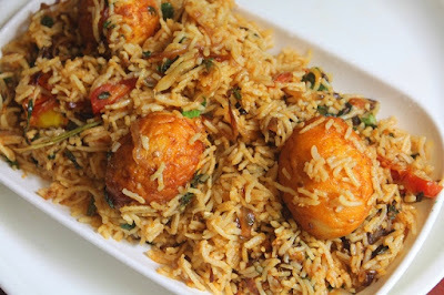 """Egg Biryani Recipe..."""