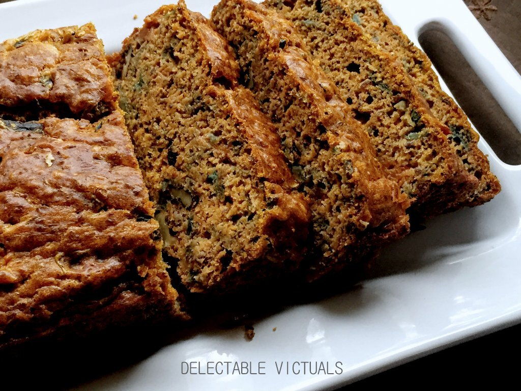Cheesy Sweet Potato and Cabbage Savory Bread