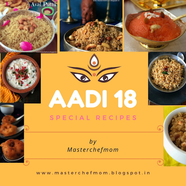 Aadi 18 Recipes| Kalanda Sadam Recipes | Tamil Festival Recipes | Aadi Perukku Recipes by Masterchefmom